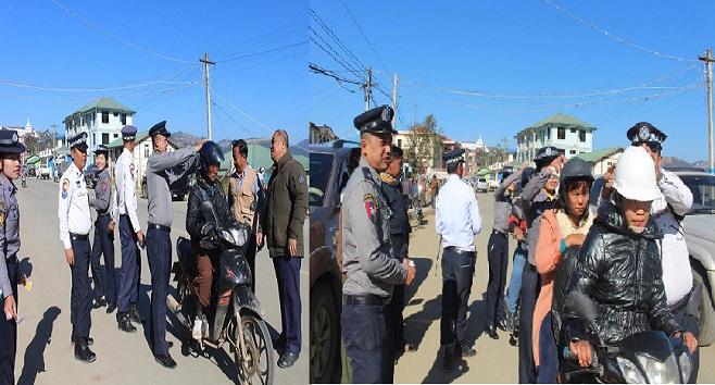The Hakha Post: Man Lo In Motorcycle Ah Mei Tleu Sticker An Benhpiak Hna
