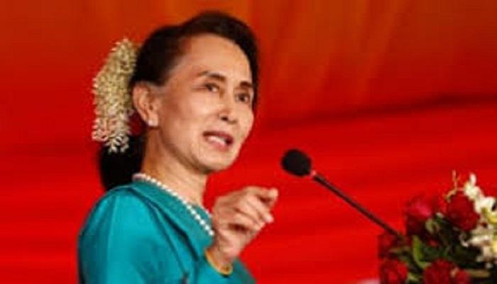 Laimi chinmi hi Aung San Suu Kyi thawngin palik kut sal riantuannak in a luat mi kan si