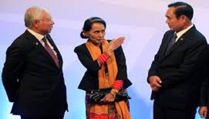 Aung San Suu Kyi mitthli he bia a chim ve cang ai sum kho tibak ve lo