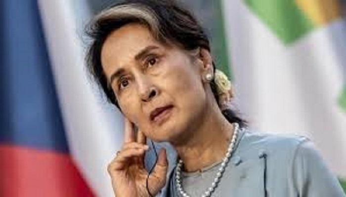 Aung San Suu Kyi cu a mah unau lila nih an rem lonak ca an kuat cang ko hi