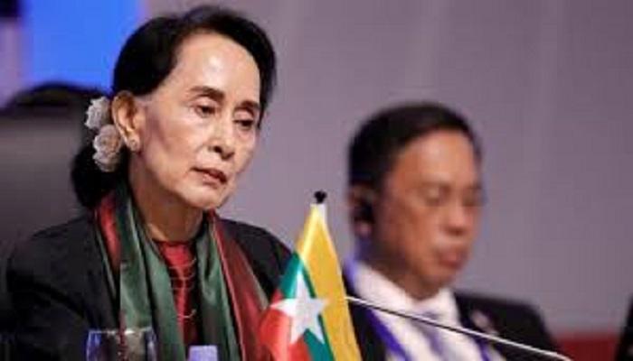 Aung San Suu Kyi caah ngaichia ni taktak asi e vawlei cung ngai hi a poi ko