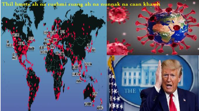President Trump Nih WHO Bawmhnak A Phih